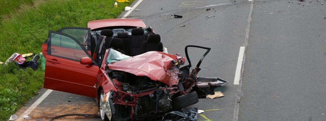 Verkehrsunfall auf der B214, Sieden