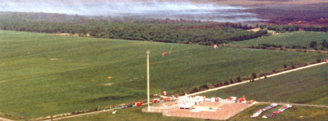 1988 – Moorbrand Borstel