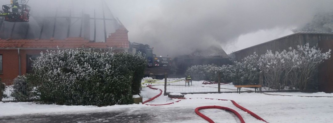 Schweißarbeiten führen zu Wohnhausbrand