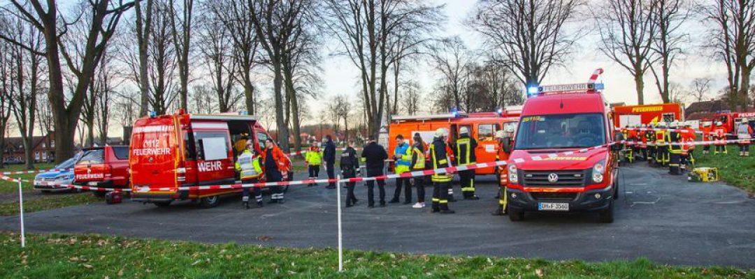 Rettungsdienste und Polizei proben Ernstfall