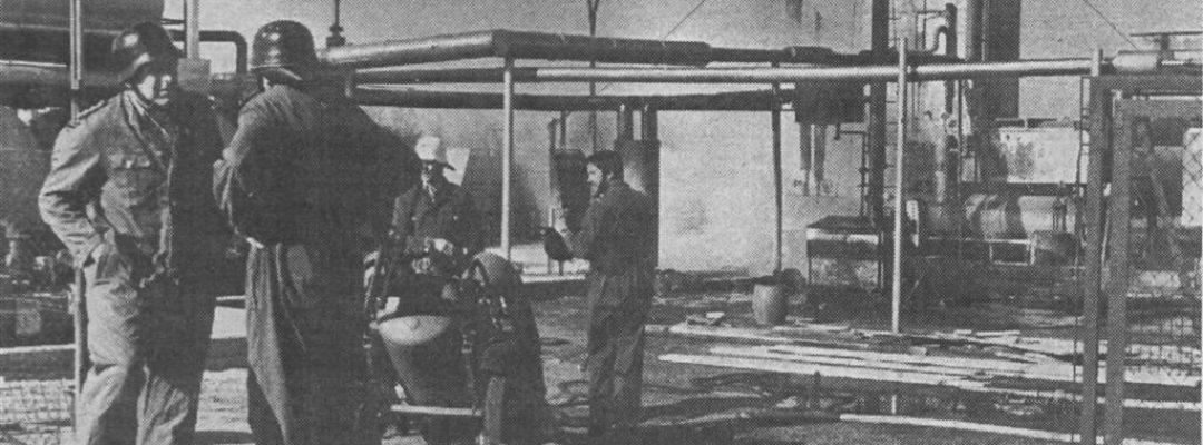 1984 – Brand einer Wintershall-Gasförderanlage