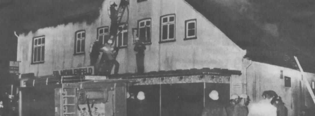 1987 – Brand im Geschäftshaus Mühlenfeld