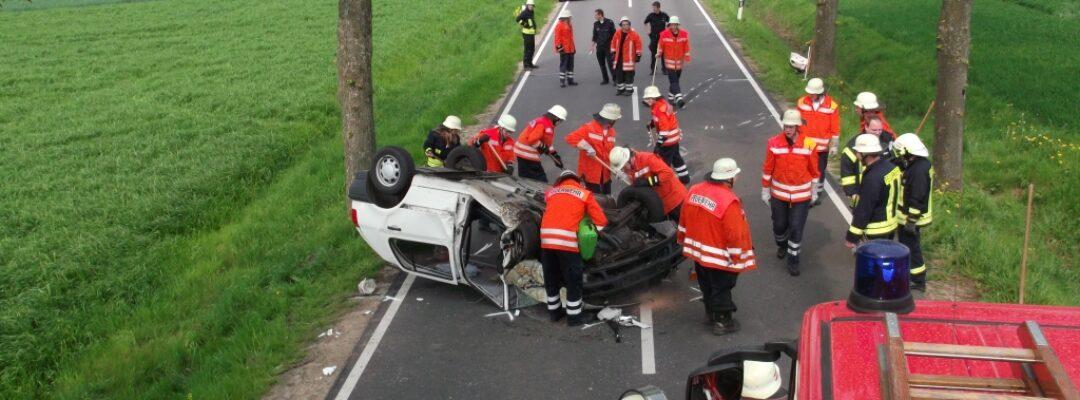Verkehrsunfall K 15, Asendorfer Straße