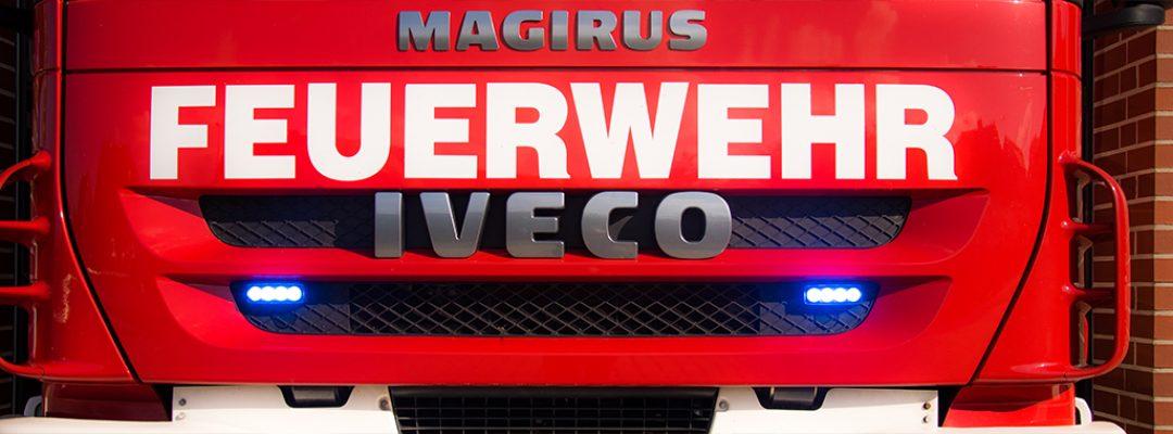 Kleiner Flächenbrand in Staffhorst